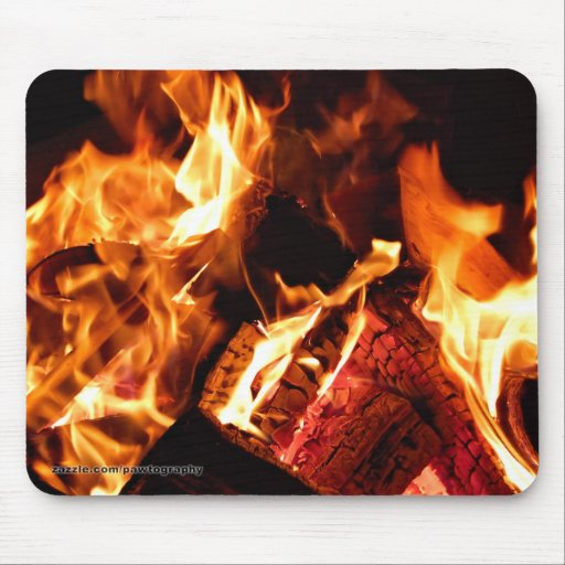 Campfire Mouse Pad