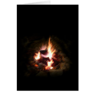 Campfire Note Card
