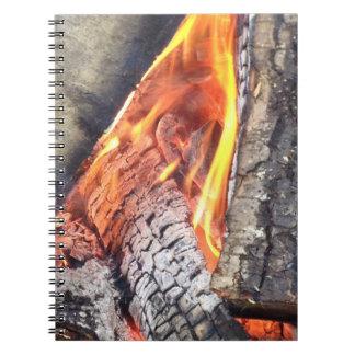 Campfire Spiral Note Books