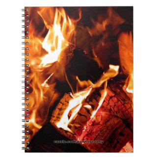 Campfire Spiral Note Book