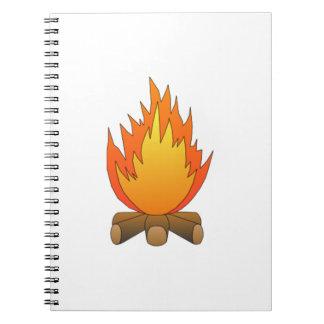 Campfire Spiral Notebooks