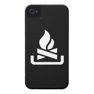 Campfire Pictogram iPhone 4 Case