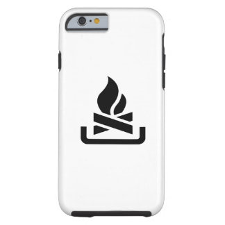 Campfire Pictogram iPhone 6 Case