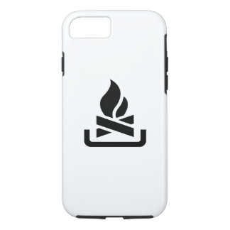 Campfire Pictogram iPhone 7 Case