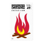 Campfire Postage Stamps