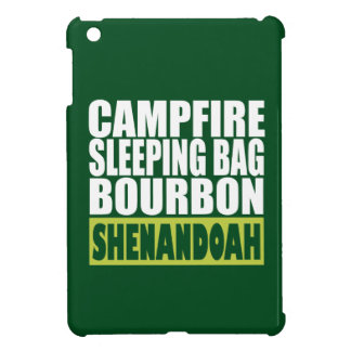 Campfire Sleeping Bag Bourbon Shenandoah iPad Mini Case