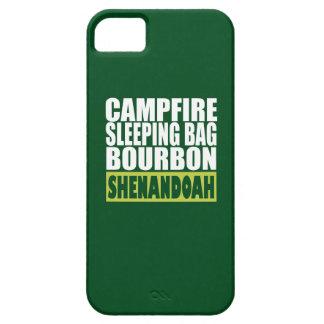 Campfire Sleeping Bag Bourbon Shenandoah iPhone SE/5/5s Case
