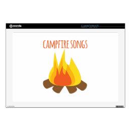 "Campfire Songs 17"" Laptop Skin"