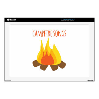 "Campfire Songs 17"" Laptop Skin"