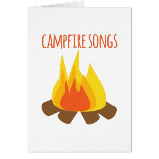 Campfire Songs Card