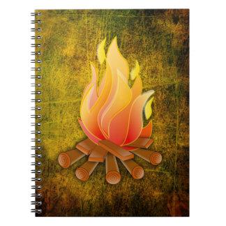 CAMPFIRE SPIRAL NOTEBOOK