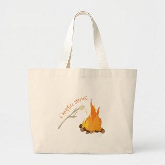 Campfire Stories! Jumbo Tote Bag