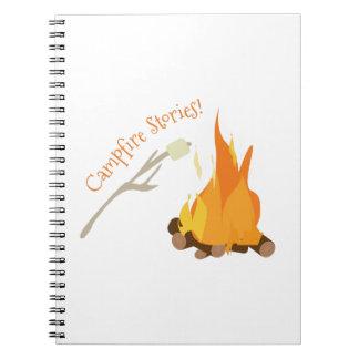 Campfire Stories! Spiral Note Book