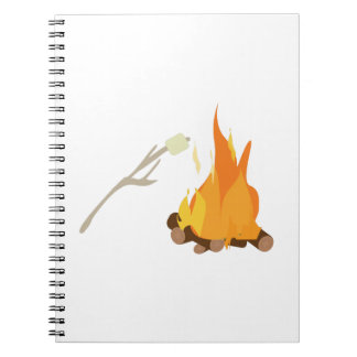 Campfire Treat Spiral Note Book