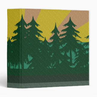 Campground Faded Binder