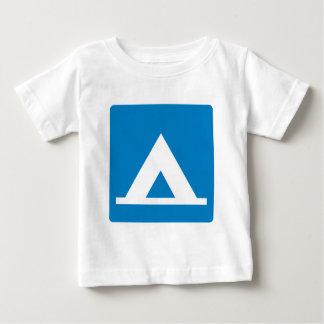 Campground Highway Sign Tee Shirt