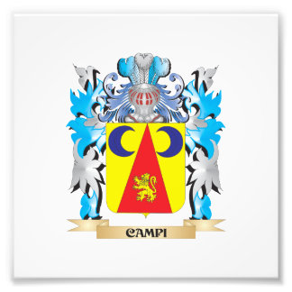 Campi Coat of Arms - Family Crest Art Photo