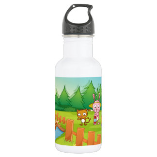 Camping 18oz Water Bottle