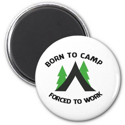 camping 2 inch round magnet