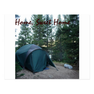Camping and Hiking products Postcard