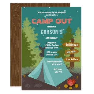Camping Invitations Zazzle