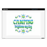 """Camping Brightens Decals For 15"""" Laptops"""