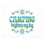 Camping Brightens Post Cards