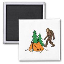 Camping Buddies Magnet