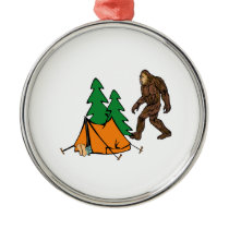 Camping Buddies Metal Ornament