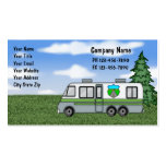 Camping Business Cards