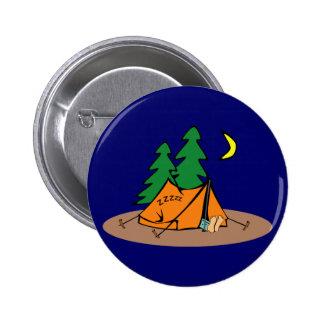 Camping Pinback Button