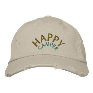 Camping / Camper Embroidered Baseball Hat
