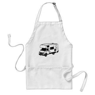 camping car adult apron