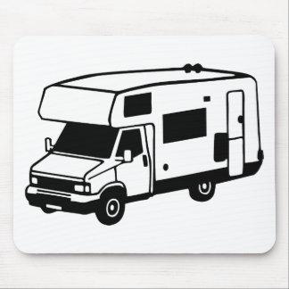 camping car mouse pad
