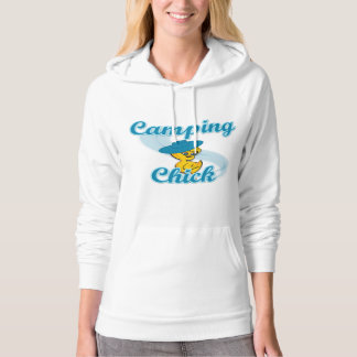 Camping Chick #3 Hooded Pullover