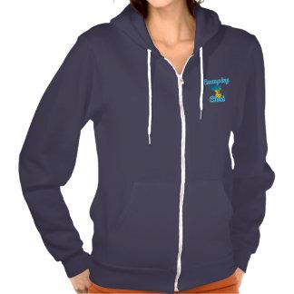 Camping Chick #3 Hooded Sweatshirts