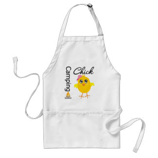 Camping Chick Adult Apron