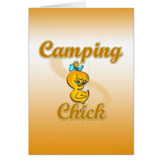 Camping Chick Cards