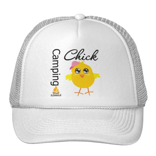 Camping Chick Trucker Hat