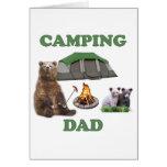 Camping Dad Bear Cards
