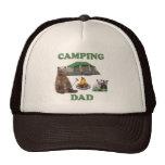 Camping Dad Bear Mesh Hat