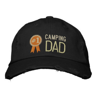 Camping Dad Cap Father's Day / Birthday Dad Embroidered Baseball Cap