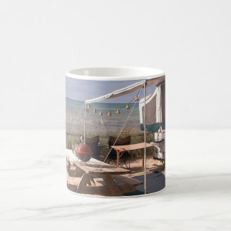 Camping dreams. coffee mug