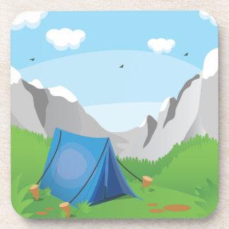 Camping Drink Coaster