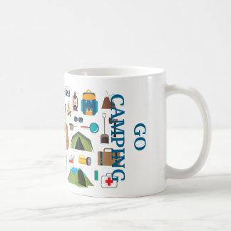Camping Equipment Coffee Mug
