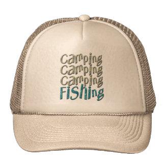 Camping Fishing Trucker Hat