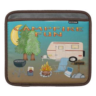 Camping Fun Sleeve For iPads