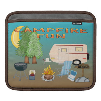 Camping Fun Sleeves For iPads