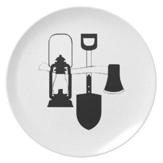 Camping Gear Dinner Plates