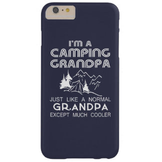 Camping Grandpa Barely There iPhone 6 Plus Case